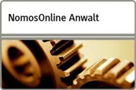 NomosOnline Anwalt - Ergänzungsmodul Familienrecht | Datenbank | sack.de