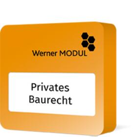 Werner Privates Baurecht | Datenbank | Sack Fachmedien