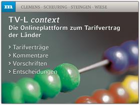 TV-L context | Datenbank | sack.de