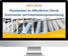Reisekosten im öffentlichen Dienst Kommentar mit Entscheidungssammlung online   Datenbank   sack.de