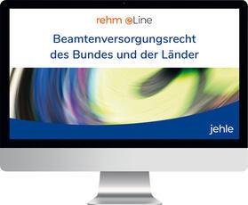 Beamtenversorgungsrecht des Bundes und der Länder online | Datenbank | sack.de