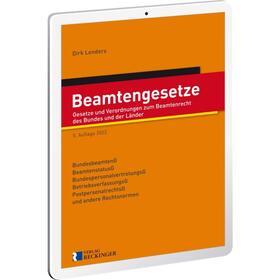 Beamtengesetze - Digital | Datenbank | sack.de