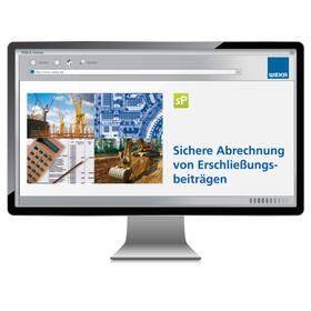 Sichere Abrechnung von Erschließungsbeiträgen - online   Datenbank   sack.de