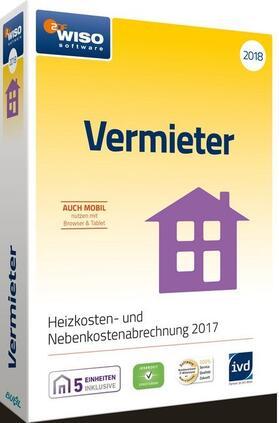 WISO Vermieter 2018, 1 CD-ROM | Sonstiges | sack.de