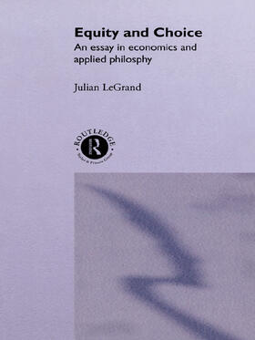 Le Grand | Equity and Choice | Buch | sack.de