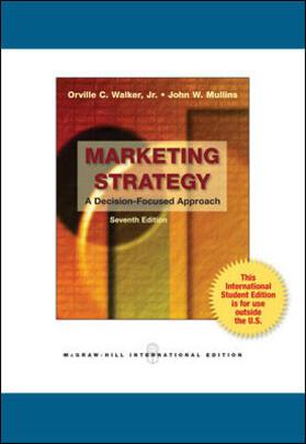 Mullins / Walker / Boyd   Marketing Strategy   Buch   sack.de