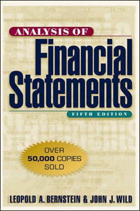 Bernstein / Wild | Analysis of Financial Statements | Buch | sack.de