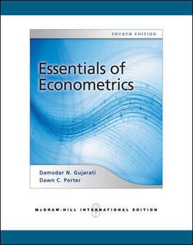 Gujarati | Essentials of Econometrics (Int'l Ed) | Buch | sack.de
