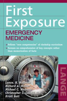 Hoffman / Walker / Wadman | First Exposure: Emergency Medicine | Buch | sack.de