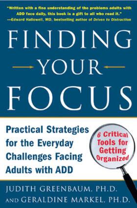 Greenbaum / Markel | Finding Your Focus | Buch | sack.de