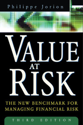 Jorion | Value at Risk, 3rd Ed. | Buch | sack.de