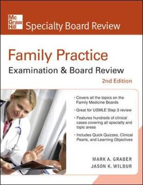 Graber / Wilbur | Family Practice Examination & Board Review, Second Edition | Buch | sack.de
