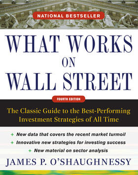 Shaughnessy | What Works on Wall Street | Buch | sack.de