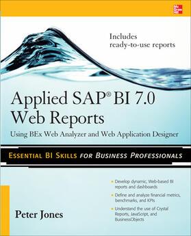 Jones | Applied SAP BI 7.0 Web Reports | Buch | sack.de