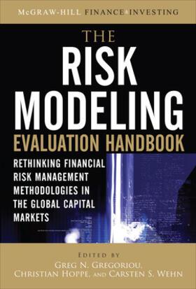 Hoppe / Gregoriou / Wehn | The Risk Modeling Evaluation Handbook | Buch | sack.de