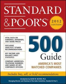 S | Standard and Poor's 500 Guide, 2012 Edition | Buch | sack.de