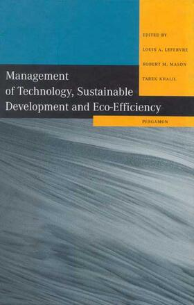 Management of Technology, Sustainable Development and Eco-Efficiency | Buch | sack.de