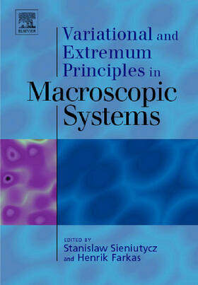 Sieniutycz / Farkas   Variational and Extremum Principles in Macroscopic Systems   Buch   sack.de