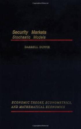 Duffie | Security Markets | Buch | sack.de