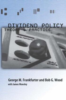 Frankfurter / Wood / Wansley | Dividend Policy | Buch | sack.de