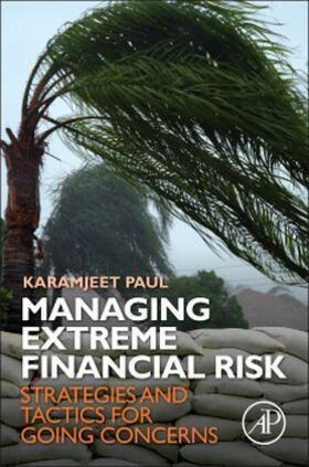 Paul | Managing Extreme Financial Risk | Buch | sack.de