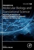 Molecular Biology of Neurodegenerative Diseases: Visions for the Future | Buch |  Sack Fachmedien