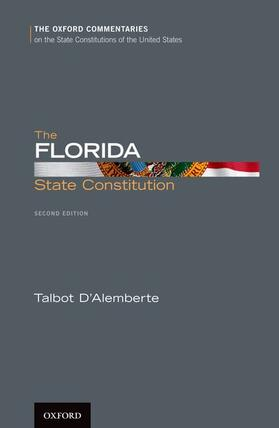 D'Alemberte | The Florida State Constitution | Buch | sack.de