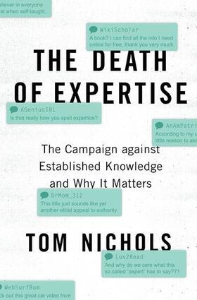 Nichols | The Death of Expertise | Buch | sack.de