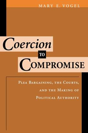 Vogel | Coercion to Compromise | Buch | sack.de