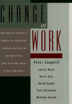 Cappelli / Katz / Osterman | Change at Work | Buch | sack.de