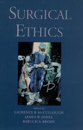 McCullough / Jones / Brody | Surgical Ethics | Buch | sack.de