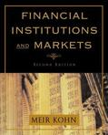Kohn |  Financial Institutions and Markets | Buch |  Sack Fachmedien