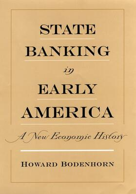 Bodenhorn | State Banking in Early America | Buch | sack.de