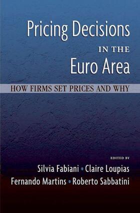 Fabiani / Loupias / Martins   Pricing Decisions in the Euro Area   Buch   sack.de