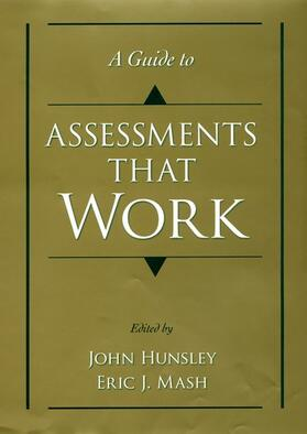 Hunsley / Mash | A Guide to Assessments That Work | Buch | sack.de