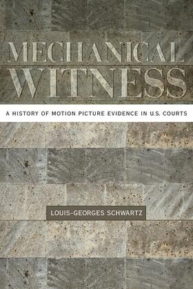 Schwartz | Mechanical Witness | Buch | sack.de