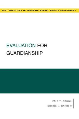 Drogin / Barrett | Evaluation for Guardianship | Buch | sack.de