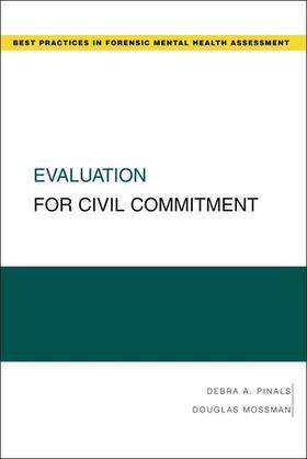Pinals / Mossman   Evaluation for Civil Commitment   Buch   sack.de