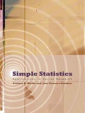 Miethe / Gauthier | Simple Statistics | Buch | sack.de