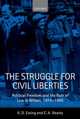 Ewing / Gearty | The Struggle for Civil Liberties | Buch | sack.de