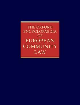 Toth | The Oxford Encyclopaedia of European Community Law. Vol.3 | Buch | sack.de