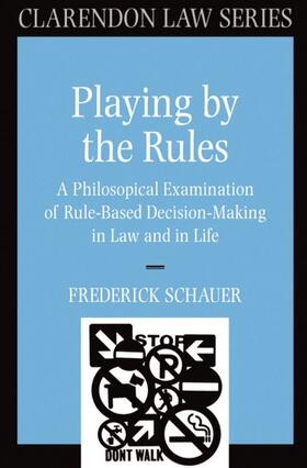 Schauer | Playing by the Rules | Buch | sack.de