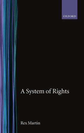 Martin   A System of Rights   Buch   sack.de