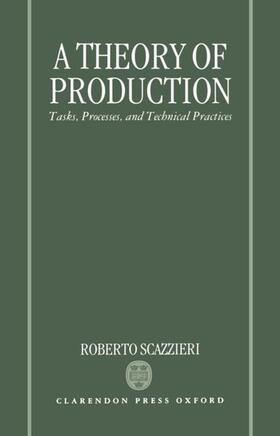 Scazzieri | A Theory of Production | Buch | sack.de