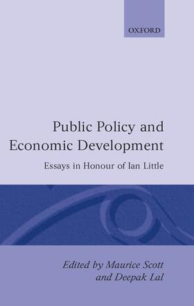 Scott / Lal | Public Policy and Economic Development | Buch | sack.de