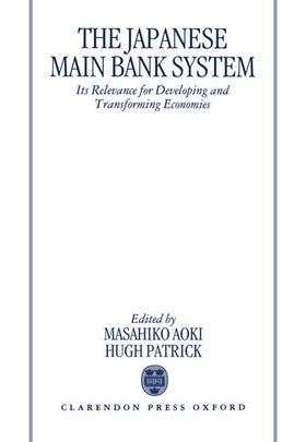 Aoki / Patrick   The Japanese Main Bank System   Buch   sack.de