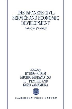 Yamamura / Hyung-Ki Kim / Muramatsu | The Japanese Civil Service and Economic Development | Buch | sack.de