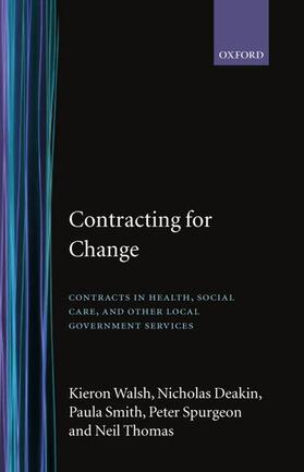 Walsh / Deakin / Smith | Contracting for Change | Buch | sack.de