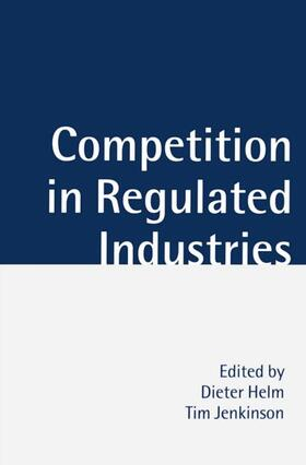Helm / Jenkinson   Competition in Regulated Industries   Buch   sack.de