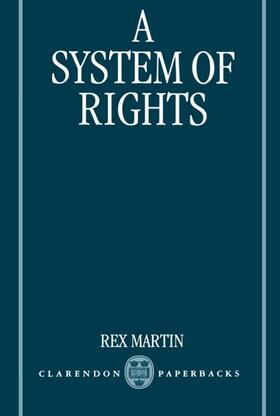 Martin | A System of Rights | Buch | sack.de